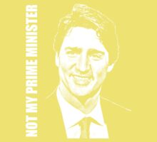 Justin Trudeau - Not My PM One Piece - Short Sleeve