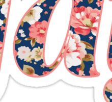 Floral gay Sticker
