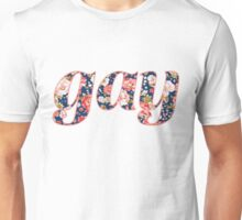 Floral gay Unisex T-Shirt