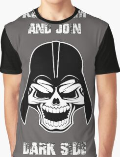 Keep Calm And Join The Dark Side Graphic T-Shirt