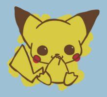 Pikachu Colored Kids Clothes