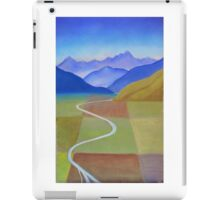 Canterbury Plains from Above iPad Case/Skin