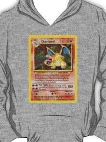 Charizard Pokemon Card T-Shirt