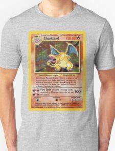 Charizard Pokemon Card T-Shirt