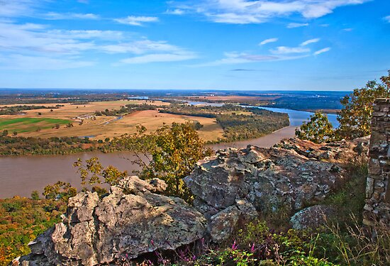 View from Mount Petit Jean by Lisa G. Putman