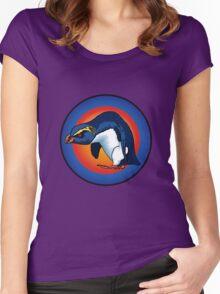vXp - Vin the Xtreme Penguin Women's Fitted Scoop T-Shirt