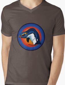 vXp - Vin the Xtreme Penguin Mens V-Neck T-Shirt