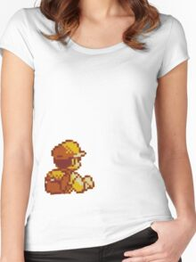 Red from Pokemon (Ash) Women's Fitted Scoop T-Shirt