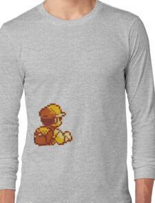 Red from Pokemon (Ash) Long Sleeve T-Shirt