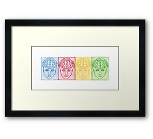 Color Code Of Dreams Framed Print