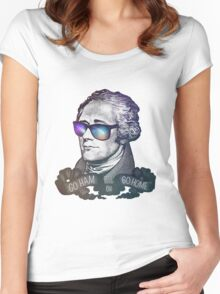Hamilton: Go Ham or Go Home! Women's Fitted Scoop T-Shirt