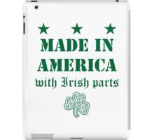 Made in America with Irish Parts iPad Case/Skin