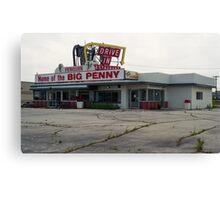 The Big Penny  Canvas Print