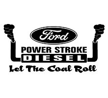 Ford Power Stroke Photographic Print