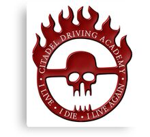 Citadel Driving Academy - Red Canvas Print
