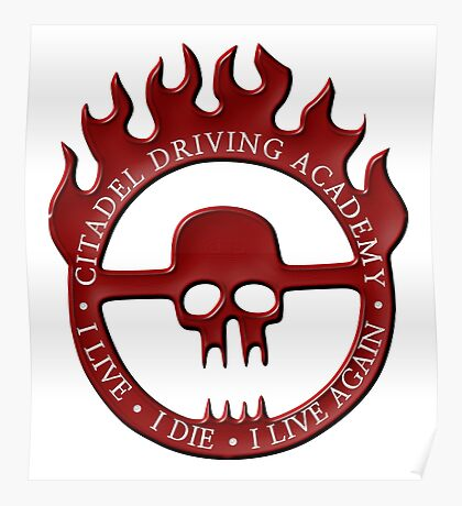 Citadel Driving Academy - Red Poster