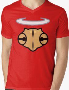 Shedinja Pokemon Head and Halo Mens V-Neck T-Shirt
