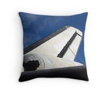 "Space Shuttle ""Endeavour"" Transit Throw Pillow"