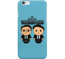 Tangled Wire - Black Box Films: BOXIES iPhone Case/Skin