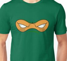 Teenage Mutant Ninja Turtles - MICHAELANGELO MASK Unisex T-Shirt