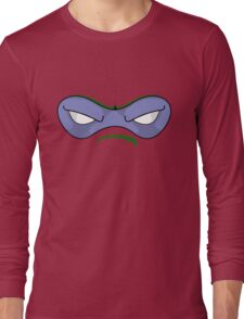Teenage Mutant Ninja Turtles - DONATELLO MASK Long Sleeve T-Shirt