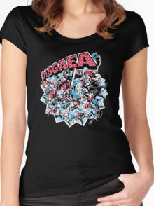 Disgaea Women's Fitted Scoop T-Shirt