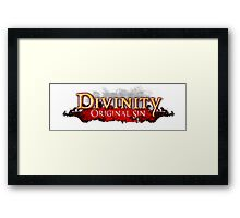 Divinity - Original Sin Framed Print