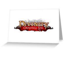 Divinity - Original Sin Greeting Card