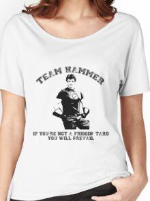 TEAM HAMMER Women's Relaxed Fit T-Shirt