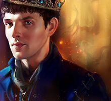 Prince Merlin by sorceressink