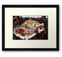 Grand Palace Bangkok Thailand 3 Framed Print