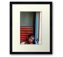 Sleeper - Sri Lanka Framed Print