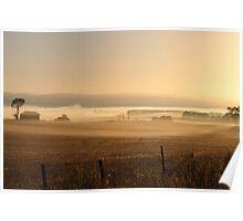dawn - in Tasmania Poster