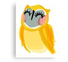 Sunshine Owl Canvas Print