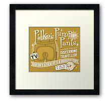 Pilko's Pump Pants Framed Print