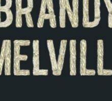Brandy Melville Logo Heart Sticker