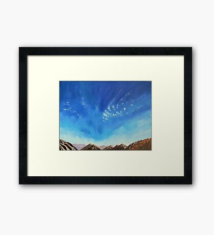 Freedom - Lord of the Rings Country, New Zealand Framed Print