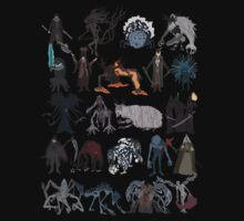 Bloodborne bosses by DigitalCleo