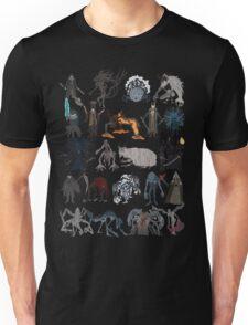 Bloodborne bosses Unisex T-Shirt