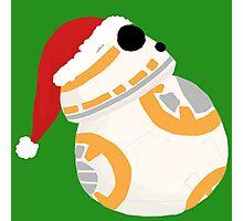 Holiday BB8 Photographic Print