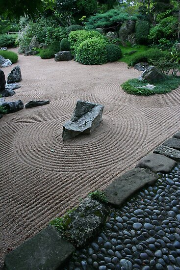 Zen Garden #5 - Drôme - France by PB-SecretGarden