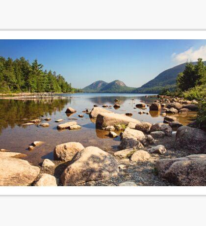 Scenic landscape - Bar Harbor, Maine Sticker