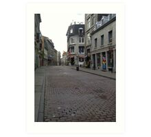 Old Montreal, Quebec, Canada Art Print