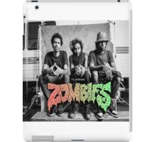 Flatbush Zombies Mobbin Trailer iPad Case/Skin