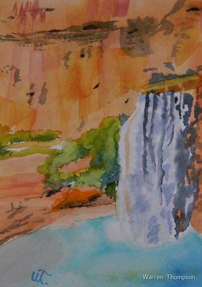 Havasu Falls Arizona by Warren  Thompson