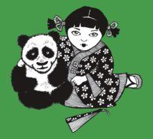 My Little Panda Baby Tee