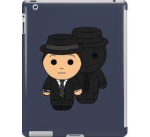 Man and Shadow (Facade) - Black Box Films: BOXIES iPad Case/Skin