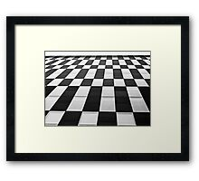 Check Out Framed Print