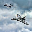 Glimering Jets by Dave Godden