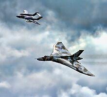 Glimering Jets by Dave Godden
